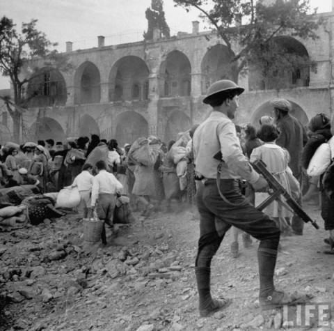 Jews expelled from Jerusalem in 1948
