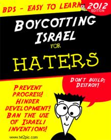 How to boycott Israel