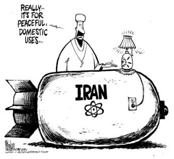 Iranian nukes for electricity