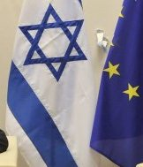 EU-Israel flag