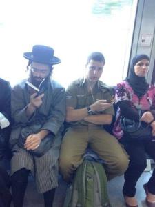 Non-apartheid Israeli bus