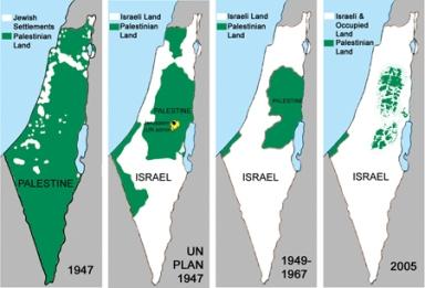 Shrinking Palestine Lie