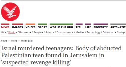 Distorted Independent Headline