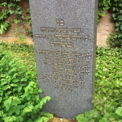 Frankfurt Miriam Strauss grave