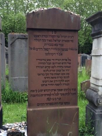 Frankfurt SR Hirsch grave