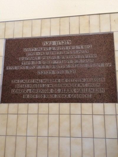 Fruth memorial plaque