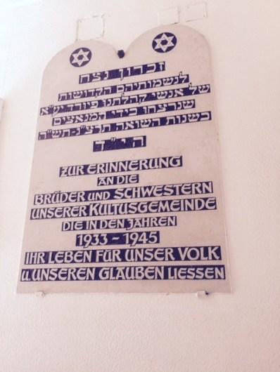 Furth memorial Jews Shoah