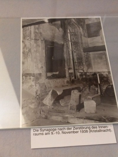 Michelstadt shul Kristallnacht