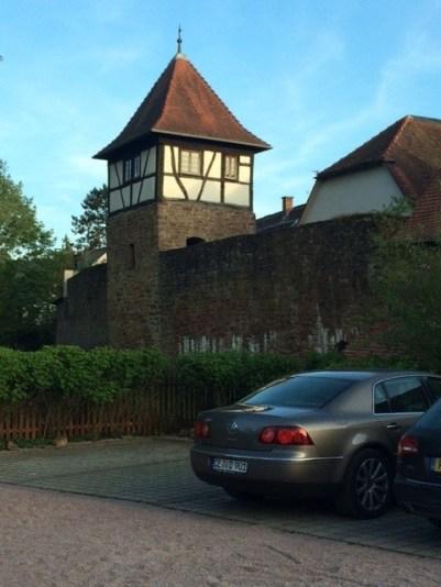 Michelstadt Zum Gruenen Baum carpark