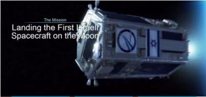 """SpaceIL's race to the moon (screenshot from <a href=""""http://www.spaceil.com/"""">SpaceIL</a>"""