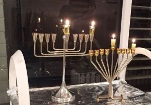 1st candle of Chanukah